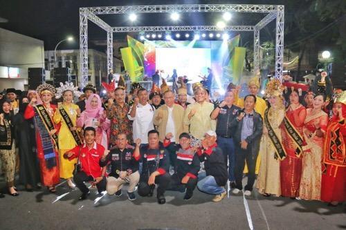 Pesona Colorful Medan Ajang Promosi Kekayaan Wisata Kota Medan
