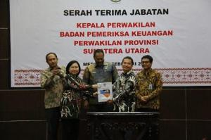 Akhyar Nasution Hadiri Sertijab Kepala Perwakilan BPK Sumut Eydu Oktain Panjaitan