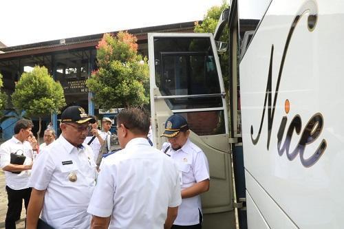 Transportasi Massal Skema BTS Beroperasi April 2020, Plt Wali Kota Medan Uji Coba Lintasan