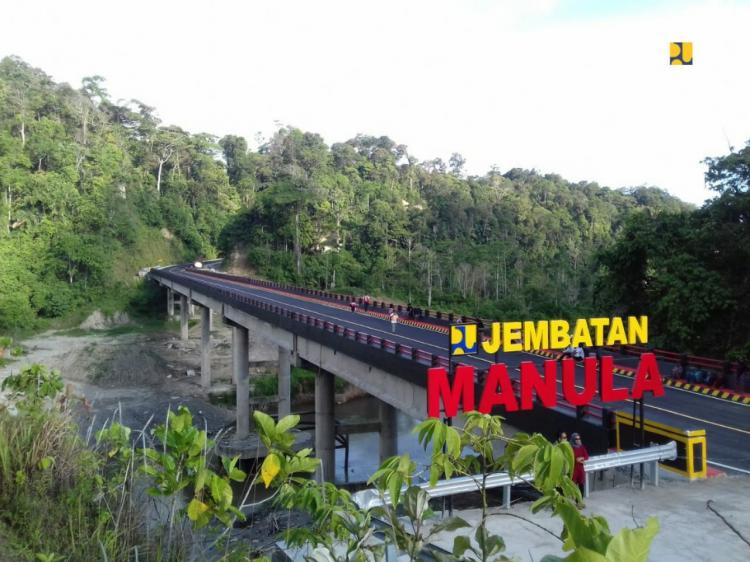 Selesai Akhir 2019, Pemerintah Bangun Jembatan Manula Hubungkan Provinsi Bengkulu dan Lampung