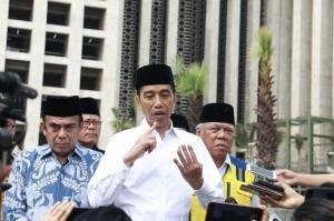 Presiden Jokowi Didampingi Menag, Tinjau Renovasi Masjid Istiqlal