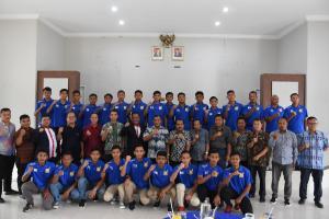 Bupati Deli Serdang Ashari Tambunan Lepas PSDS-U17 Menuju Piala Soeratin di Malang