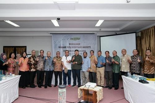 Akhyar Nasution Apresiasi Workshop Narasi Deli Heritage Society di Medan