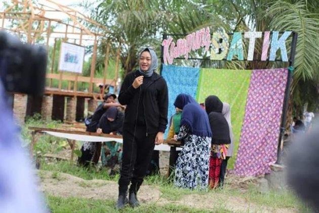 Kampung Batik di Tanjungbalai, Selain Tingkatkan Perekonomian Warga Juga Bisa Jadi Lokasi Wisata