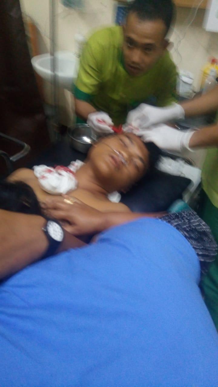 Kawasan Jalan Tritura Medan  Rawan Kejahatan di Jalanan, Seorang Pelajar Terluka Dilempari
