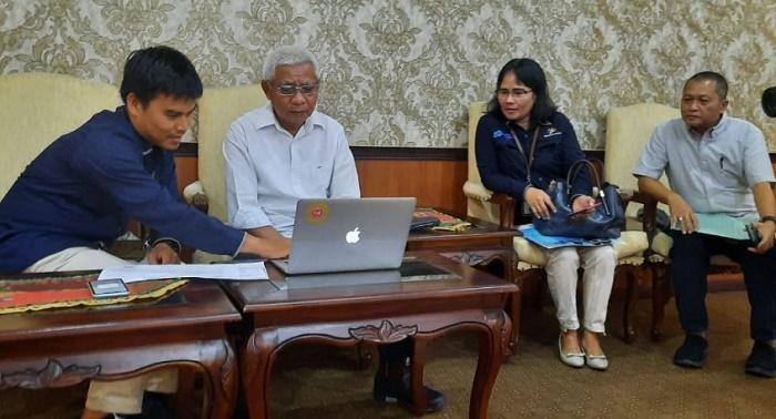Bupati Awali Sensus Penduduk Online untuk Tahun 2020 di Kabupaten Asahan