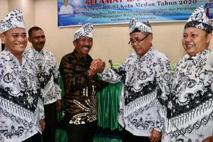 Konferensi PGRI Medan, Pemko: Guru Berperan Kembangkan Karakter Bersih