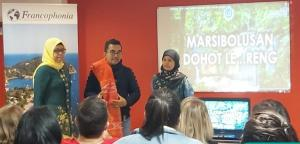 Dosen FBS Unimed Kenalkan Budaya Batak ke Dunia di Prancis