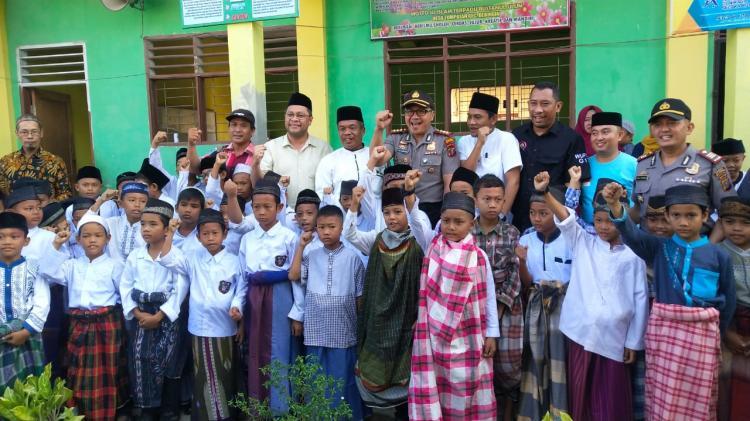 Dinkes-Polresta Deli Serdang-WUPDS G17 Berikan Bantuan Sembako dan Buka Khitan Massal Bersama Hawari Indonesia