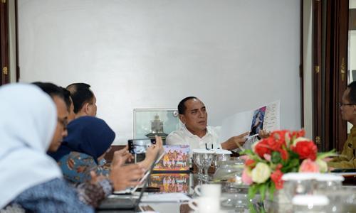 Gubernur Sumut Sambut Baik Tawaran MoU Komnas HAM RI