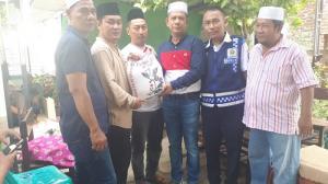 Ketua Pewarta Polrestabes Medan Berikan Santunan kepada Keluarga Almarhum Agus Purwadi
