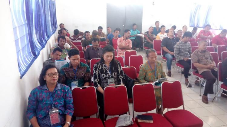 Doa Bersama Warga Binaan di Rutan Sidikalang, Penyuluh Agama Kristen Kemenag Dairi Berikan Penguatan Iman