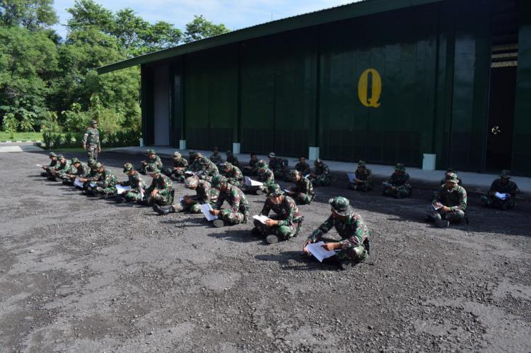 UTP Asah Keterampilan dan Teknik Prajurit