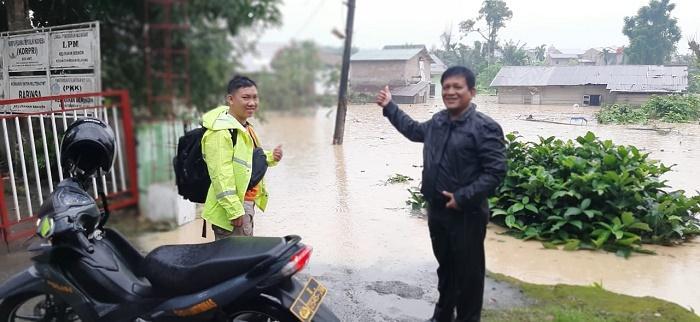 Hujan Deras, Beberapa Wilayah di Kota Medan Terendam Banjir