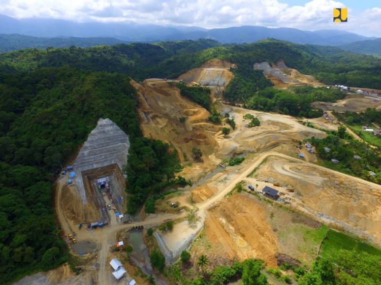 Target Selesai 2022, Pemerintah Bangun Bendungan Rukoh untuk Irigasi 11.950 Hektare Sawah