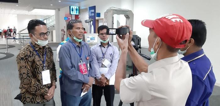 Lihat Cara Pencegahan Virus Corona, Ombudsman RI Sidak ke Bandara Kualanamu