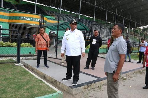 Plt Wali Kota Medan Cek Kesiapan Stadion Teladan Jelang Liga 2