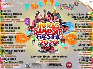 Inilah 11 Event Wisata Tahun 2020 yang Diluncurkan Pemkab Samosir