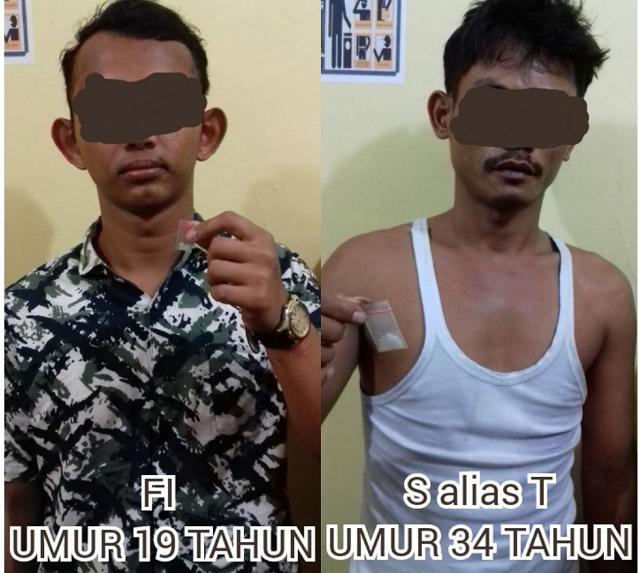 Miliki Sabu, Dua Pemuda Ini Diciduk Polsek Batang Kuis