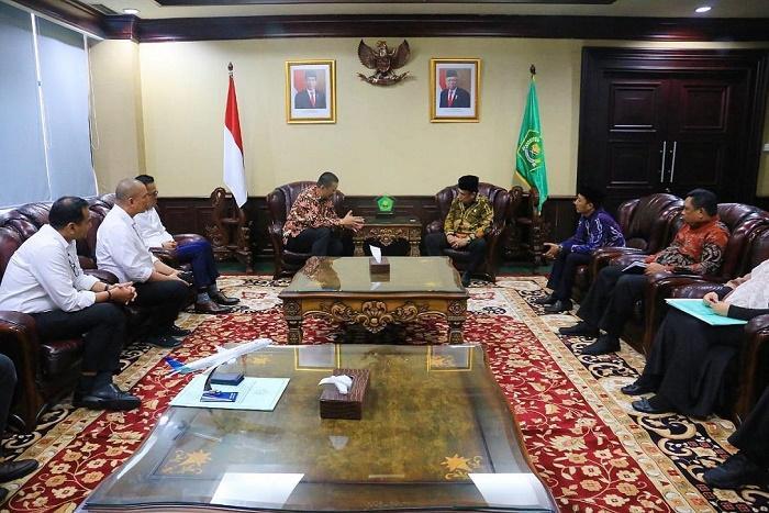 Menteri Agama Minta PT Garuda Siapkan Layanan Eyab untuk Jemaah Haji Indonesia