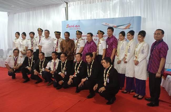 Batik Air Apresiasi 18 Awak Pesawat Penerbangan 'Misi Kemanusiaan' Rute Soekarno-Hatta Tangerang-Wuhan-Batam