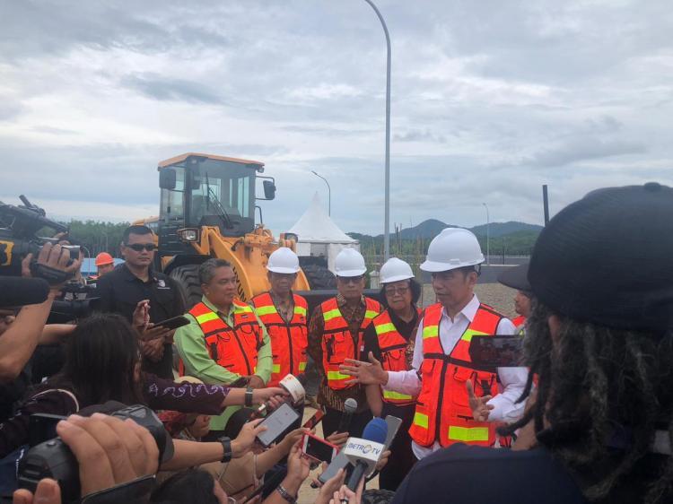 Tempat Jauh dari Permukiman, Presiden Apresiasi Pengelolaan TPA Sampah Regional Banjar Bakula