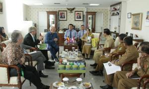 Terima Kunjungan Duta Besar Belgia, Sekda Paparkan Peluang Investasi Unggulan Sumut