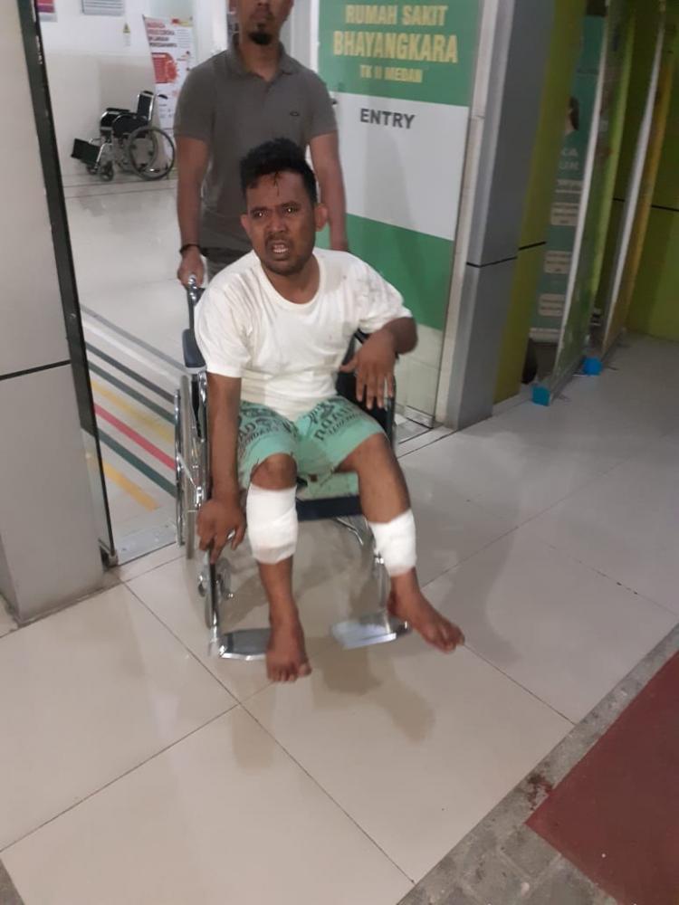 Terlibat Jambret di Medan Ditembak Polisi di Kota Padang Sidempuan
