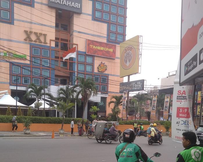 Security Thamrin Plaza Bentrok dengan Driver Ojol, Hari Ini Suasana Jalan Thamrin Medan Sudah Kondusif