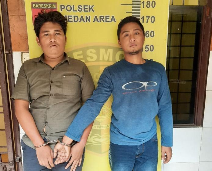 Transaksi Sabu di Kamar Hotel OYO Komplek MMTC, Dua Pria Ditangkap Polsek Medan Area