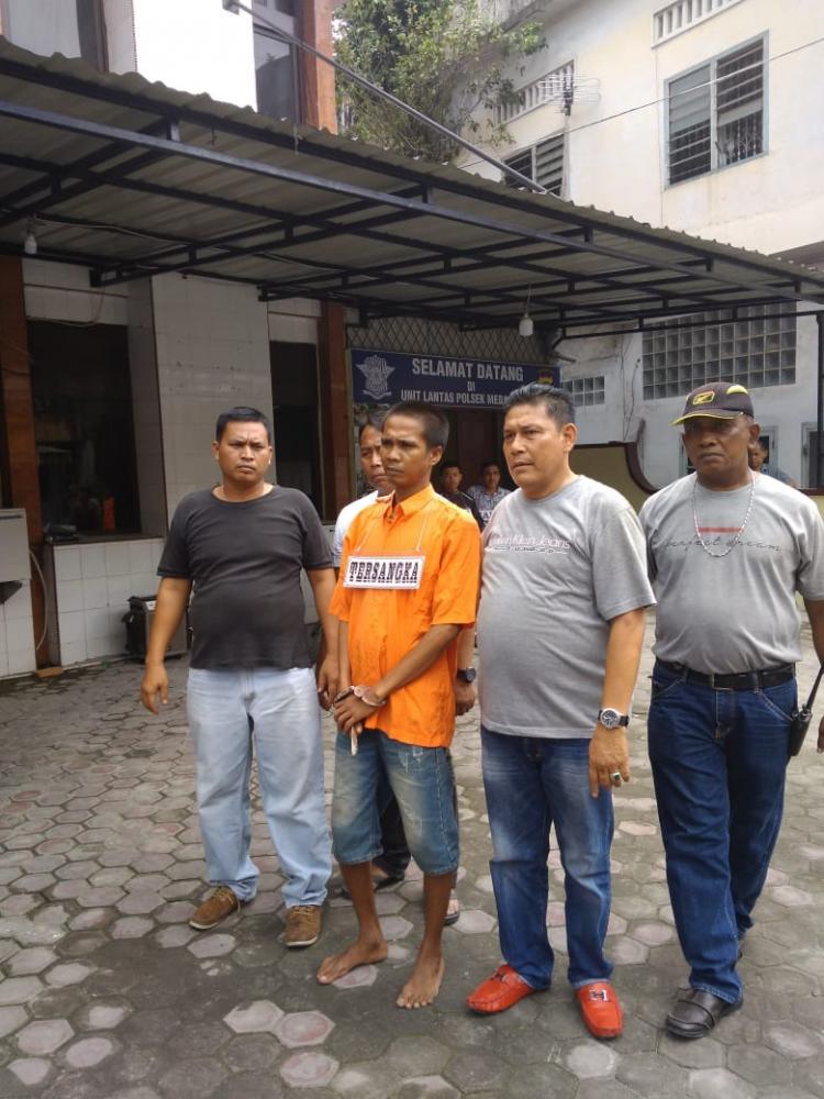 Polsek Medan Area Gelar Rekonstruksi Kasus Pembunuhan di Jalan Rawa Cangkuk I