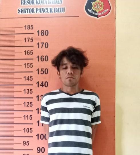 Aniaya Ginting, Sembiring Ditangkap Polsek Pancur Batu di Perumahan River Valley
