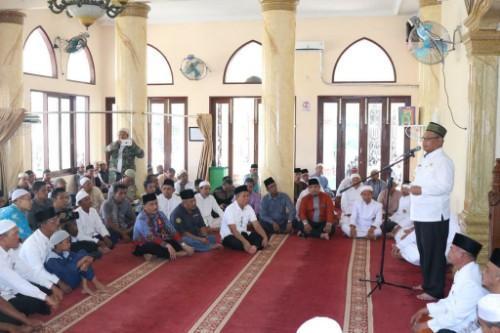Safari di Masjid Ar-Ridha Paya Pasir, Plt Wali Kota Medan: Jihad Lawan Narkoba