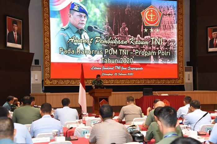 Kasum TNI Minta TNI Bekerja Sesuai Visi Misi Kenegaraan dan Pemerintah