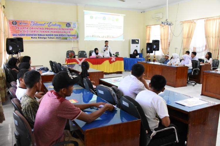 Peduli Kesehatan Remaja, Dinkes Sibolga Kader Remaja Mandiri dan Berdaya