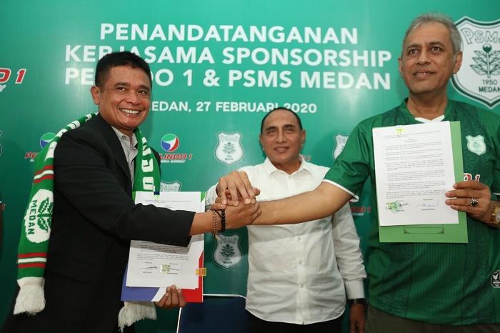 Pelindo 1 Jadi Sponsor PSMS Ikuti Liga 2 Tahun 2020, Total Dukungan 1 Milyar
