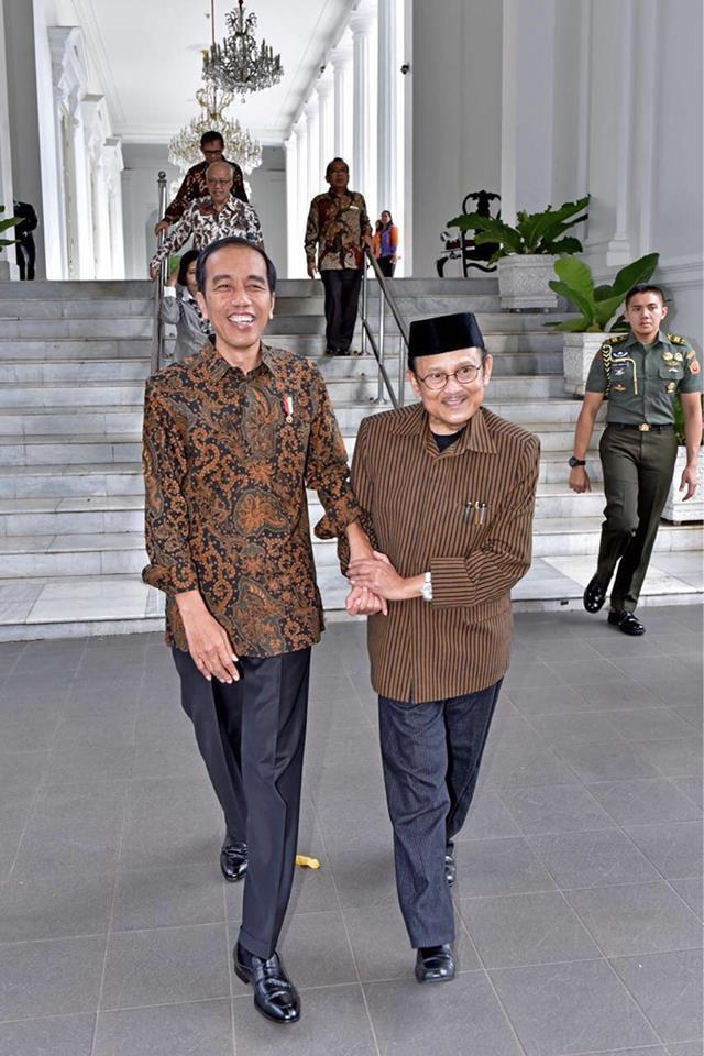 Presiden Jokowi: Mari Berdoa Untuk Kesembuhan Pak Habibie