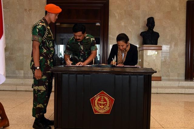TNI dan Kementerian BUMN Jalin Kerja Sama Strategis
