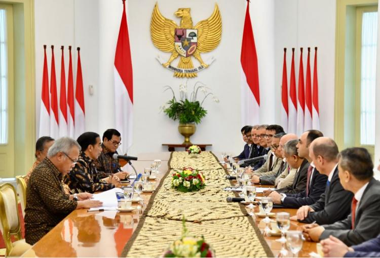 Bertemu Presiden Jokowi, Delegasi AIIB Ungkapkan Proyek Ini