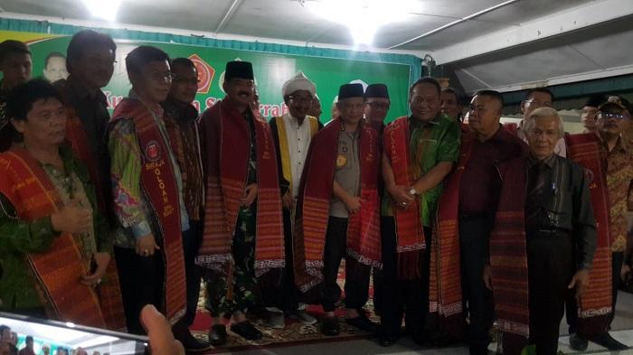 Kunjungi Ponpes di Medan Bersama Kapolri, Panglima TNI Pesankan Jaga Keutuhan NKRI