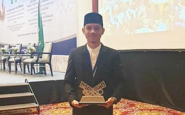 Ahmad Rizki Maulana, Mahasiswa UINSU Juara MHQH Tingkat ASEAN dan Pasifik 2019