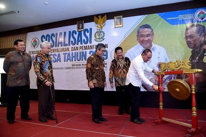 Gubernur Sumut Targetkan Pembangunan Desa Tuntas 2023