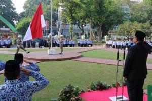 Plt Walikota Medan Pimpin Upacara Hari Kesadaran Nasional