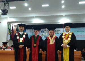 Prof Runtung Sitepu Kukuhkan Dua Guru Besar Baru Universitas Sumatera Utara