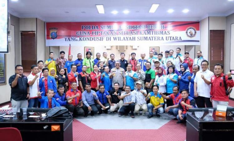 Kapolda Sumut Dialog Bersama Buruh, Ciptakan Kamtibmas Sumut Yang Kondusif
