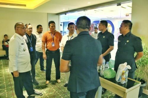 Plt Walikota Medan Tinjau Pusat Perbelanjaan ICT Center Millenium