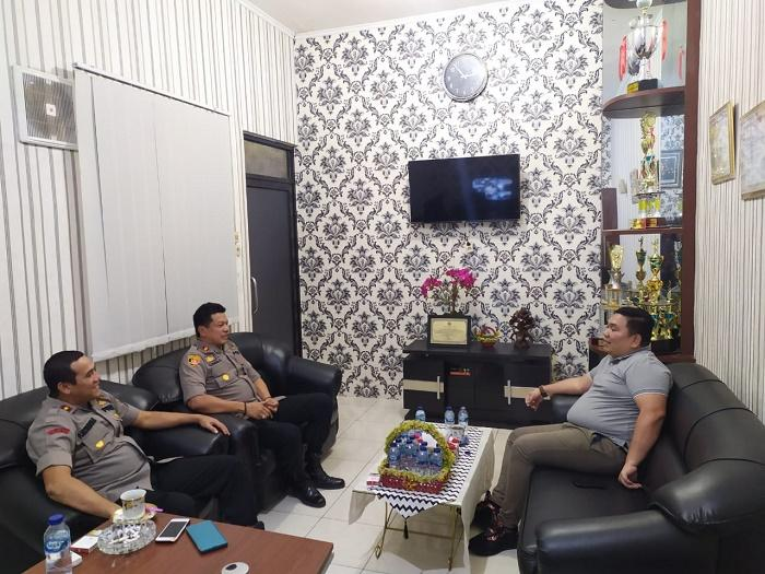 Bob Sitepu Komisi V DPR RI Fraksi PDIP Reses ke Polsek Medan Helvetia