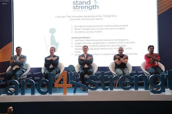 Luncurkan Ensure Melalui kampanye #Stand4Strength, Abbott Ingatkan Menurunnya Massa Otot di Usia 40 Tahun