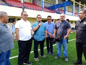 Belajar Tata Kelola Stadion Sepak Bola, Akhyar Nasution Bertolak ke Semarang