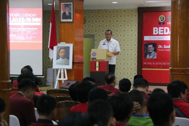 Milad IMM ke-56, Plt Wali Kota Medan Minta Masyarakat Harus Tenang Hadapi Virus Corona